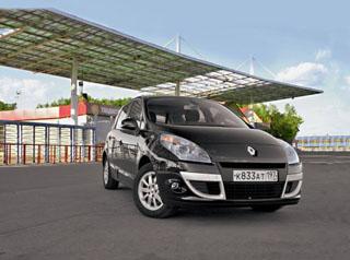 Тест-драйв Renault Scenic