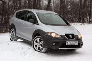 Тест-драйв Seat Altea Freetrack