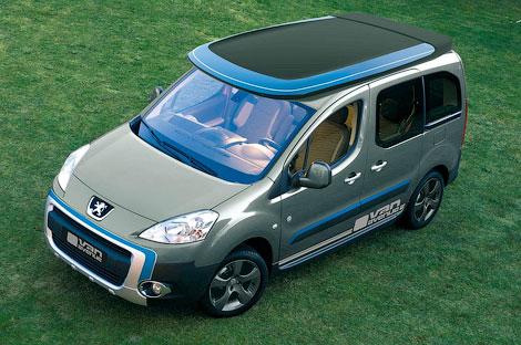 Ателье Irmscher пристроило фургону Peugeot второй этаж