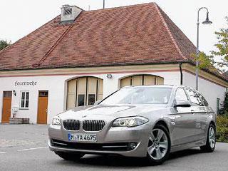 Тест-драйв BMW 5-er Touring