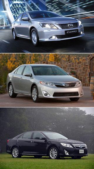 Тест-драйв Toyota Camry
