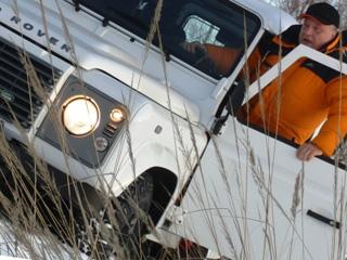 Тест-драйв Land Rover Defender