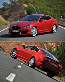 Тест-драйв Jaguar XKR