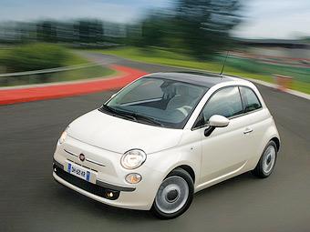 Стали известны рублевые цены на Fiat 500