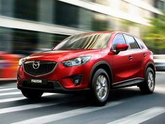 За месяц вседорожник Mazda CX-5 заказали пять тысяч россиян