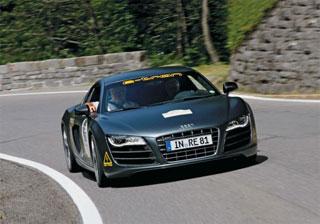 Тест-драйв Audi R8 e-tron
