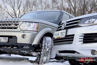 Тест-драйв Land Rover Discovery, Volkswagen Touareg