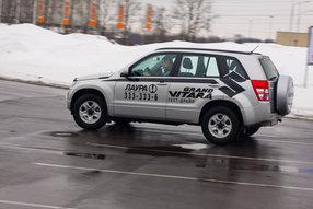 Тест-драйв Mazda CX-7, Suzuki Grand Vitara