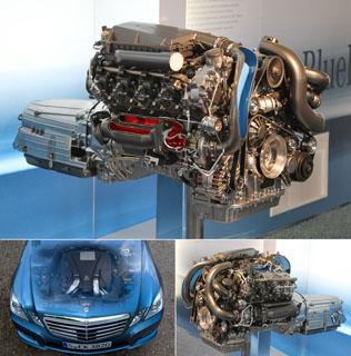Тест-драйв Mercedes E 500 и E 350 BlueEFFICIENCY