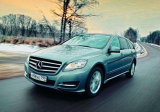 Тест-драйв Mercedes-Benz R-сlass