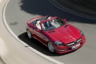 Тест-драйв Mercedes SLK