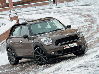 Тест-драйв MINI Cooper Countryman