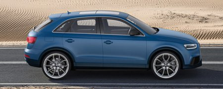 """Audi Q3 сможет разгоняться до """"сотни"""" за 5,2 секунды"""