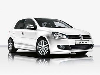 В России появился VW Golf со спорт-пакетом R-Line
