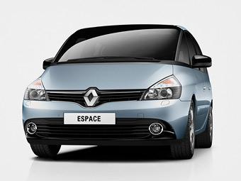 Минивэн Renault Espace обновился