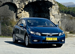 Тест-драйв Honda Civic