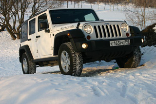 Тест-драйв Jeep Wrangler Unlimited