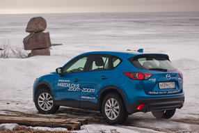 Тест-драйв Mazda CX-5: свежий поток