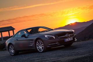 Тест-драйв Mercedes SL 500