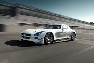 Тест-драйв Mercedes SLS GT3