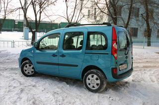 Тест-драйв Renault Kangoo