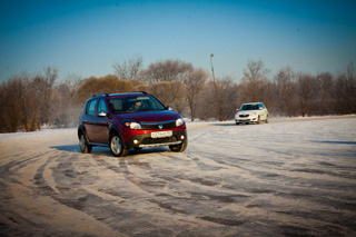 Тест-драйв Renault Sandero Stepway и Skoda Fabia