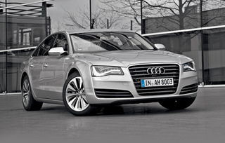 Тест-драйв Audi A8 Hybrid