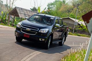 Тест-драйв Chevrolet Colorado