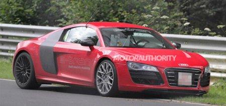 Электрический суперкар Audi попал в аварию на Нюрбургринге