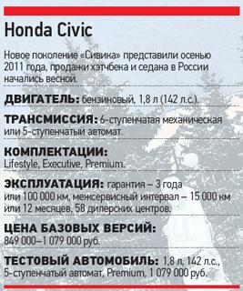 Тест-драйв Chevrolet Cruze, Honda Civic, Ford Focus