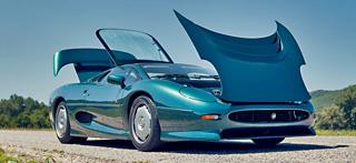 Тест-драйв Ferrari F40, Jaguar XJ220, Dodge Viper