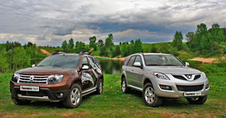 Тест-драйв Great Wall Hover H5, Renault Duster