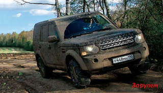 Тест-драйв Land Rover Discovery 4