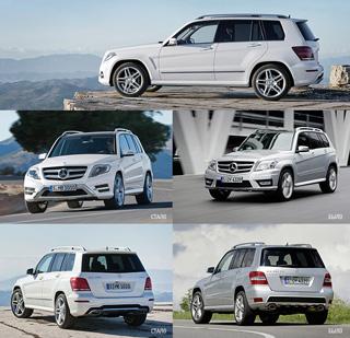 Тест-драйв Mercedes GLK