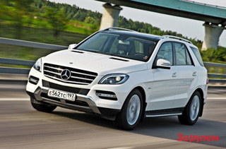 Тест-драйв Mercedes M-класс
