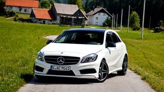 Тест-драйв Mercedes-Benz A-Class