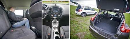 Тест-драйв Nissan Juke, Suzuki SX4