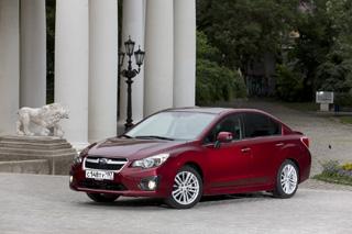 Тест-драйв Subaru Impreza