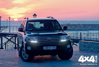 Тест-драйв Toyota Land Cruiser