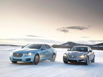 Jaguar XF и XJ получили полный привод