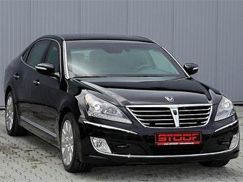 Hyundai покажет в Москве бронированный седан