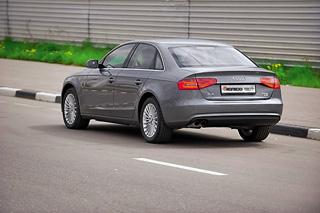 Тест-драйв Audi A4, Volvo S60