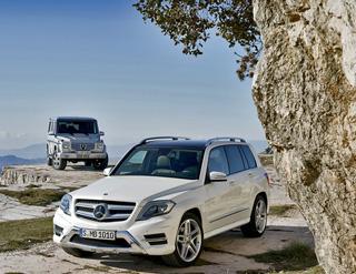 Тест-драйв Mercedes G 63 AMG, Mercedes GLK 350 4MATIC