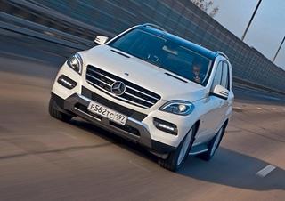 Тест-драйв Mercedes M класс