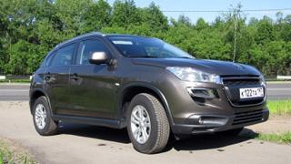 Тест-драйв Peugeot 4008