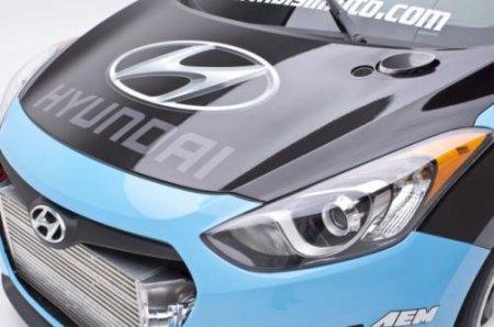 Много фото и видео 600-сильного Hyundai Elantra GT