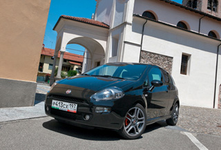 Тест-драйв Fiat Punto