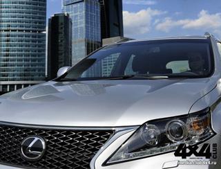 Тест-драйв Lexus RX350