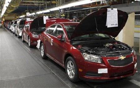 Chevrolet перенесет производство Cruze в Европу