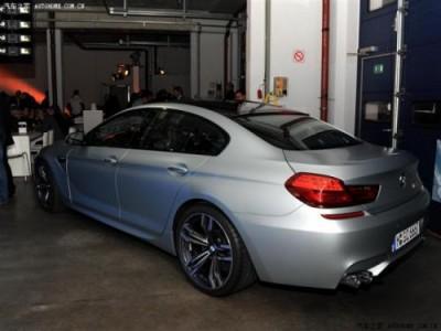 Засекреченный показ BMW M6 GranCoupe